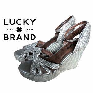 Lucky Brand- Wedge Heel